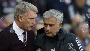 Jose mourinho dan David Moyes
