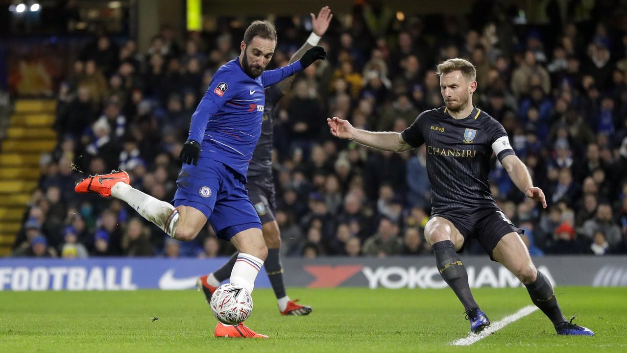 Kemampuan Higuan Setajam Aguero Setelah Bergabung Dengan Chelsea