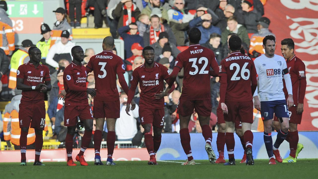 Liverpool Kembali Menduduk Puncak Klasemen Setelah Mengalahkan Bournemouth